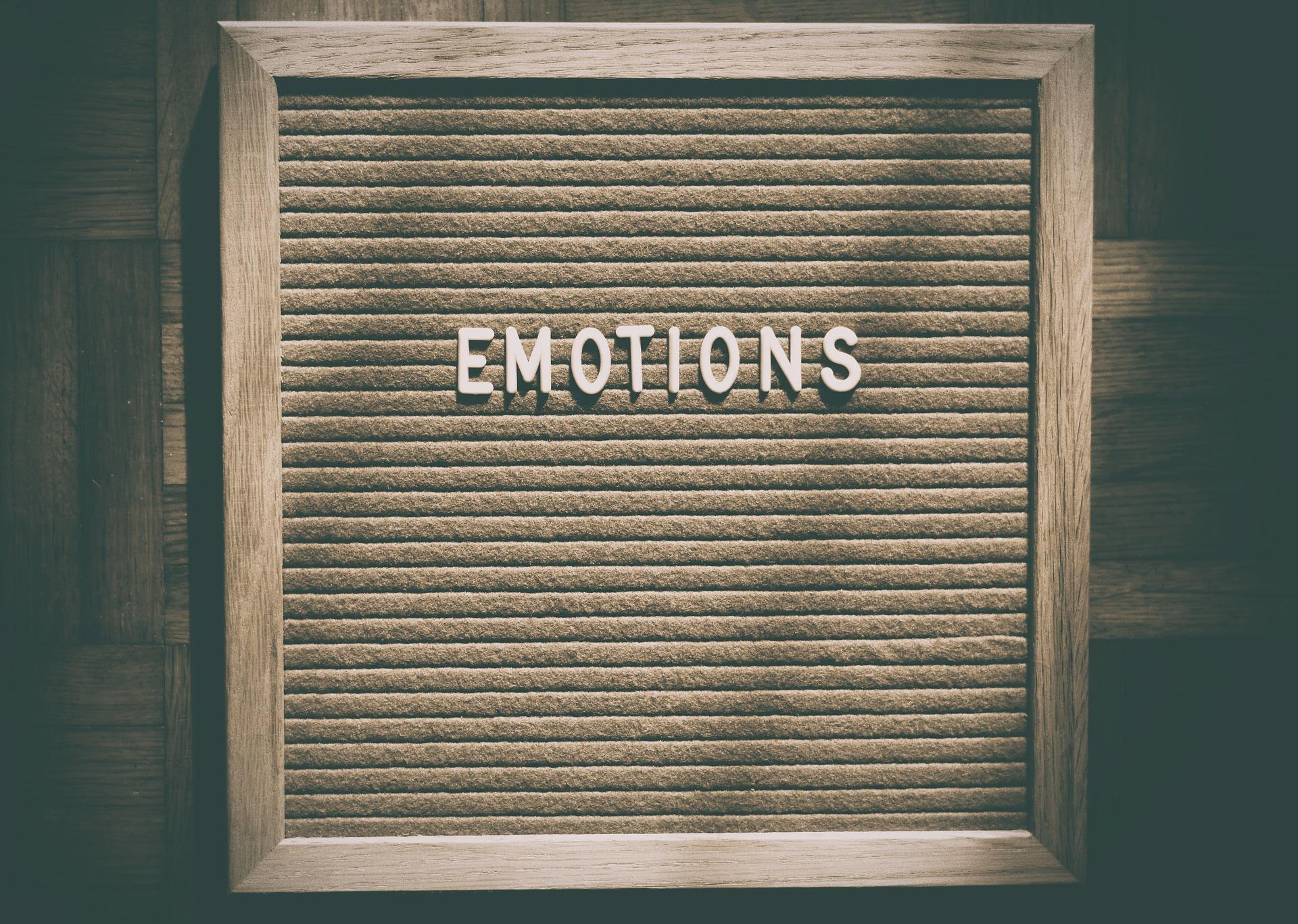 Czucie a wyrażanie emocji.